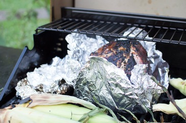 Leave top of foil cracked open for maximum smokiness to get absorbed